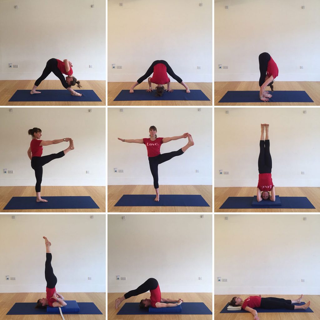Yoga Home Practice - Standings Improvers Level