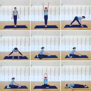 Yoga Home Practice - Forward Bends, Beginners