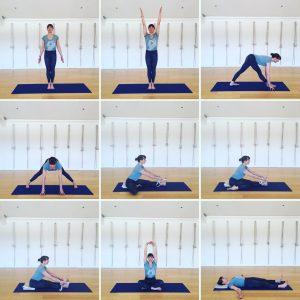 Yoga Home Practice - Forward Bends, Beginners