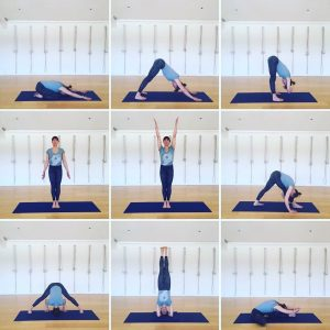 Yoga Home Practice - Forward Bends, Improvers