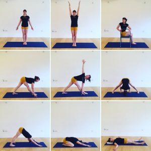 Yoga Home Practice - Standing Twists, Beginners