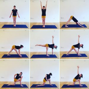 Yoga Home Practice - Standing Twists, Improvers
