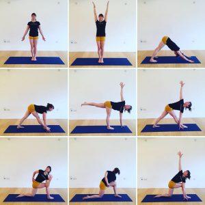 Yoga Home Practice - Standing Twists, Improvers
